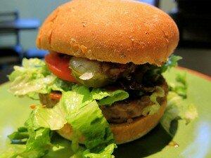 tempeh burger