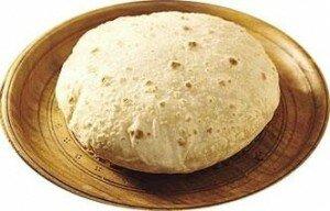 chapati puffed