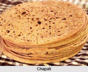 Chapati flat breads