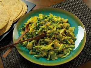 punjabi style cabbage
