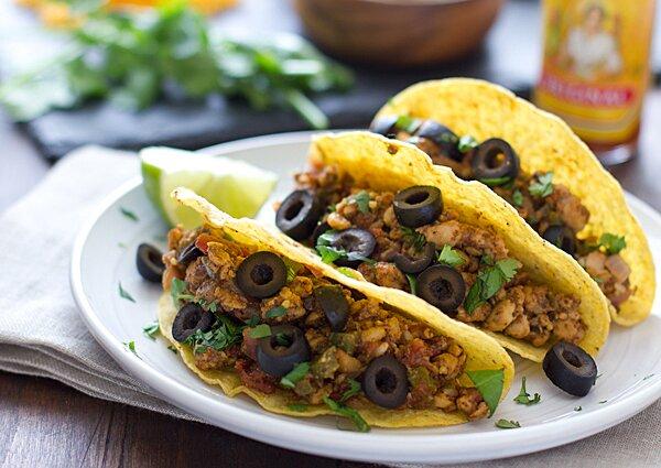 easy temeph tacos